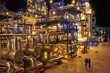 Строительство объектов нефтехимии